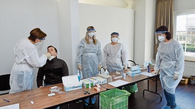 Testzentren in Lindern und Löningen melden viel Interesse