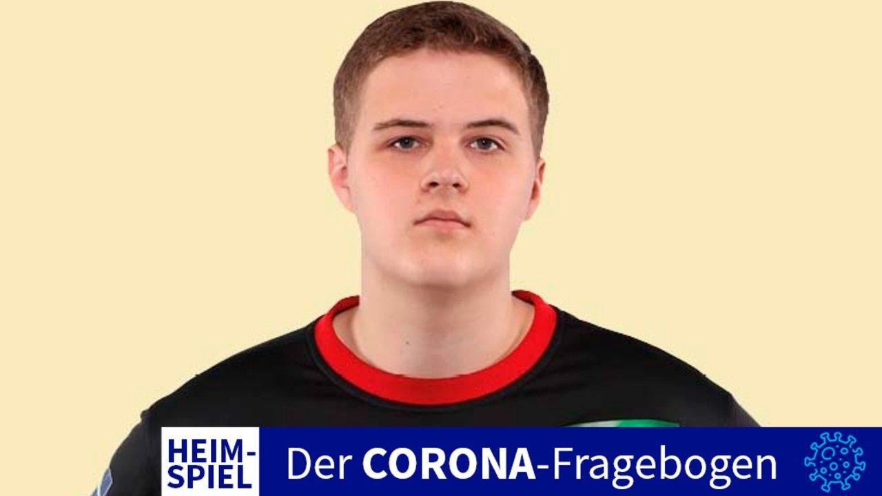 Torwart-Talent: Handballer Peter Kowalski. Foto: TuS N-Lübbecke