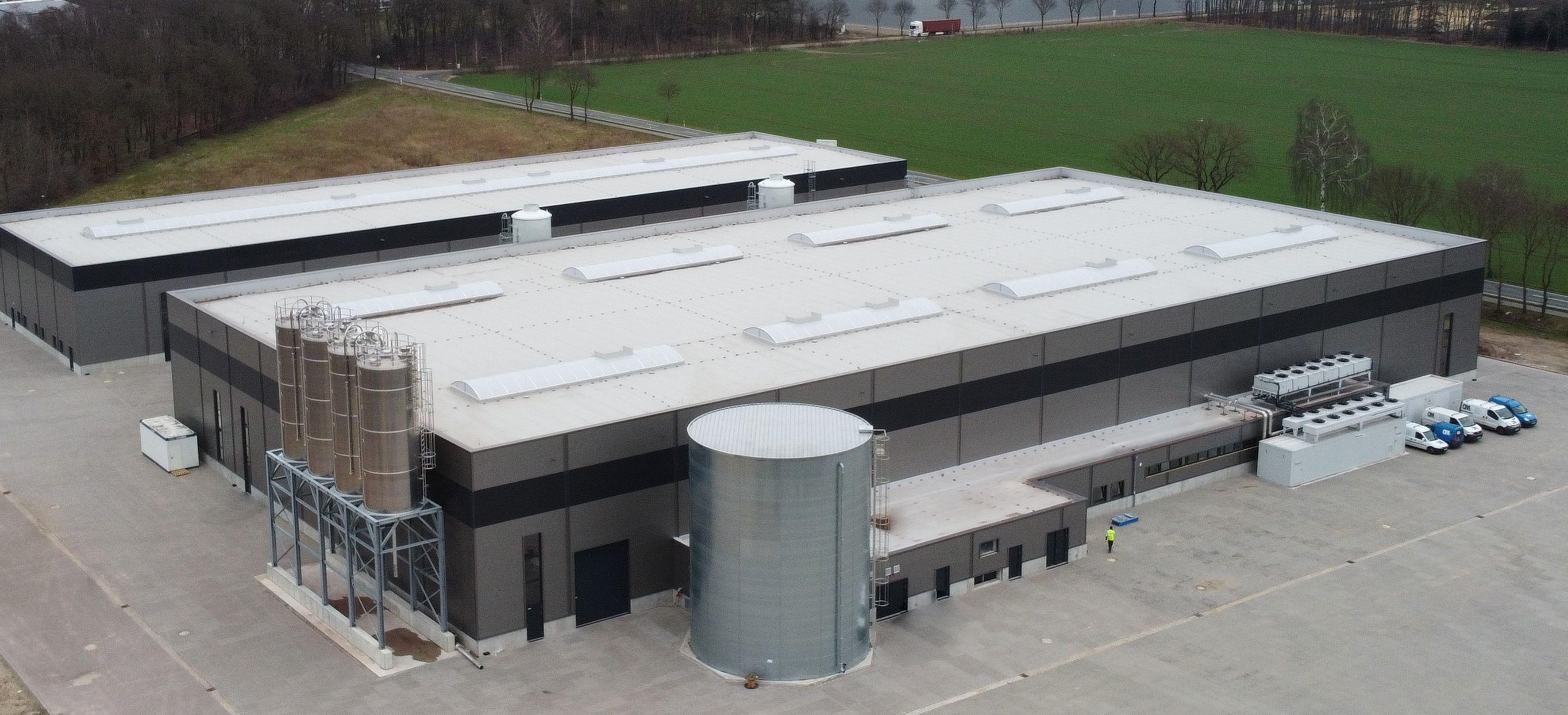 SL Recycling investierte über 20 Millionen Euro: Das Recyclingwerk in Bakum wird Kunststofffolien aufbereiten. Foto: SL