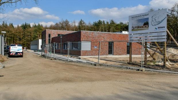 Wasserverband will im April neue Betriebsstelle beziehen