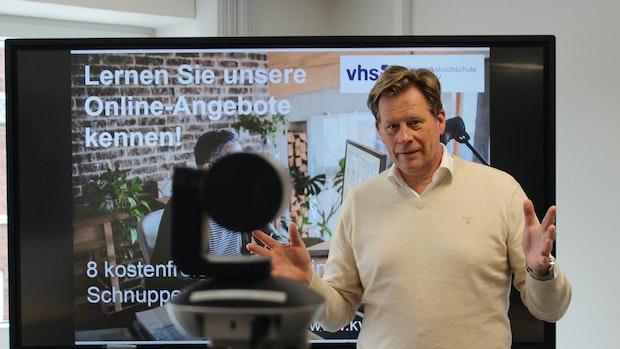 Kreisvolkshochschule plant zum ersten Mal eine Schnupperwoche online