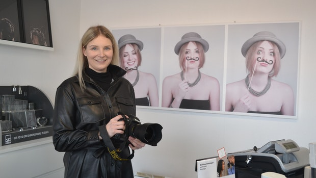 Fotografin kämpft sich durch die Krise