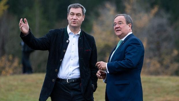 CDU/CSU: Druck für schnelle Kanzlerkandidatenkür wächst