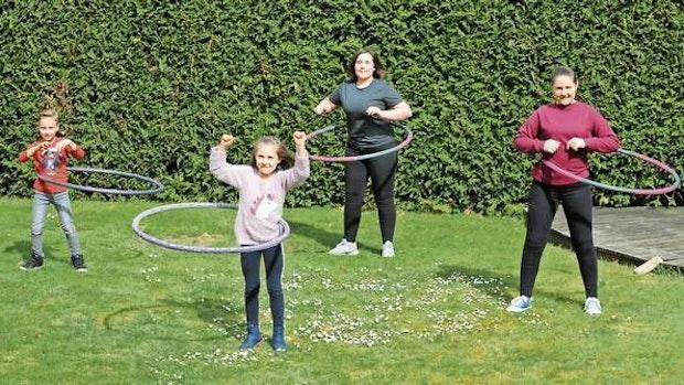 Hula-Hoop-Reifen erobert viele Herzen