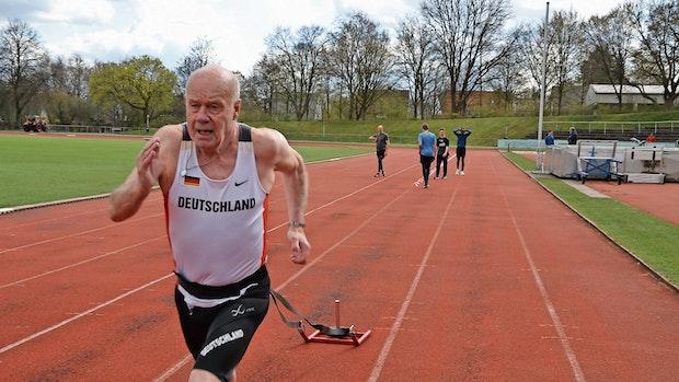 Heinz Keck: Mit 80 noch immer auf Rekordjagd