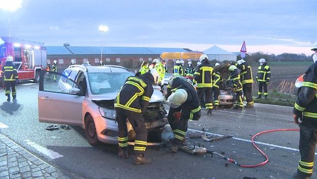 Schwerer Unfall am Freitagmorgen in Hagstedt