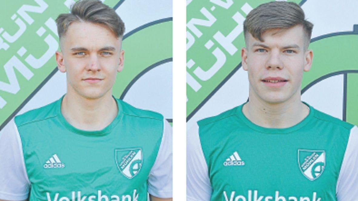 Die beiden Neuzugänge: Alexander Turowski (links) und Tom Olberding. Foto: Varwig