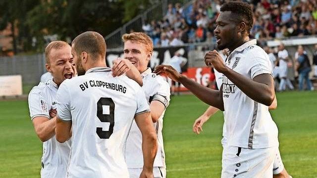 Torjubel im BVC-Trikot: Zumindest in der Landesliga wird es derlei Szenen auch in der kommenden Saison nicht geben. Foto: Wulfers
