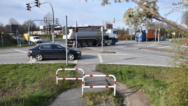 Kreuzung B 214/L 846 in Steinfeld: Umbau soll 2023 starten