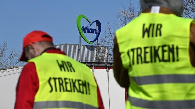Warnstreik bei Vion in Emstek