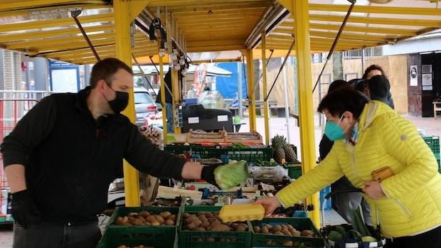 Wochenmarkt am Samstag ist der Renner