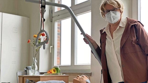 Seit 30 Jahren in der Pflege: Für Johanna Dumstorff ein Beruf mit Herz und Verstand