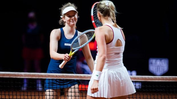 Julia Middendorfsmutiger Auftritt auf der großen Tennis-Bühne