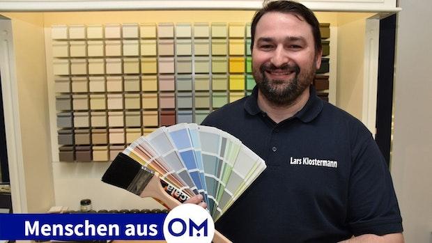 Lars Klostermann hat Freude am Kundenkontakt
