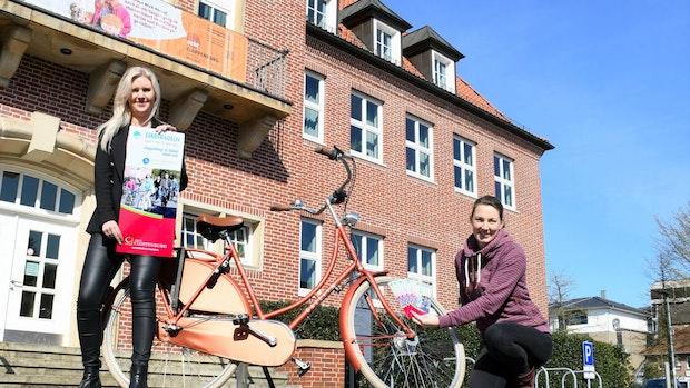Stadtradler stehen in den Startlöchern