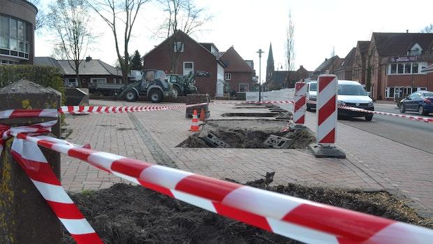 Rathaus-Vorplatz in Garrel wird umgestaltet