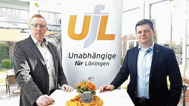 Hubert Willoh und Taku Samuriwo kandidieren für die UfL