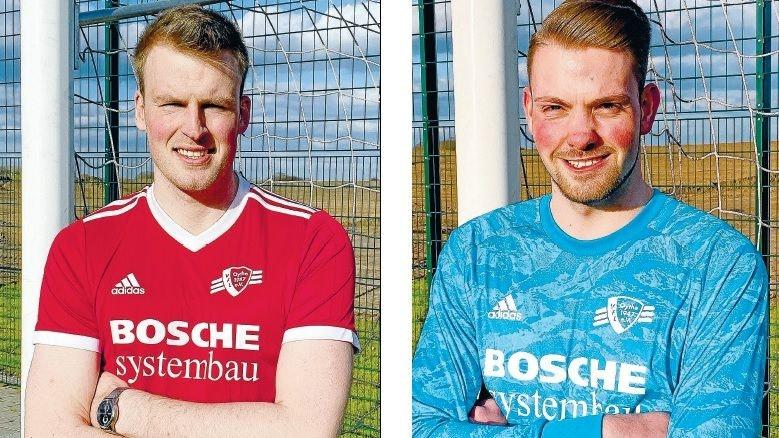 Neu beim VfL: Lennart Feldhus (links) und Tizian Kolhoff. Foto: Mitzlaff