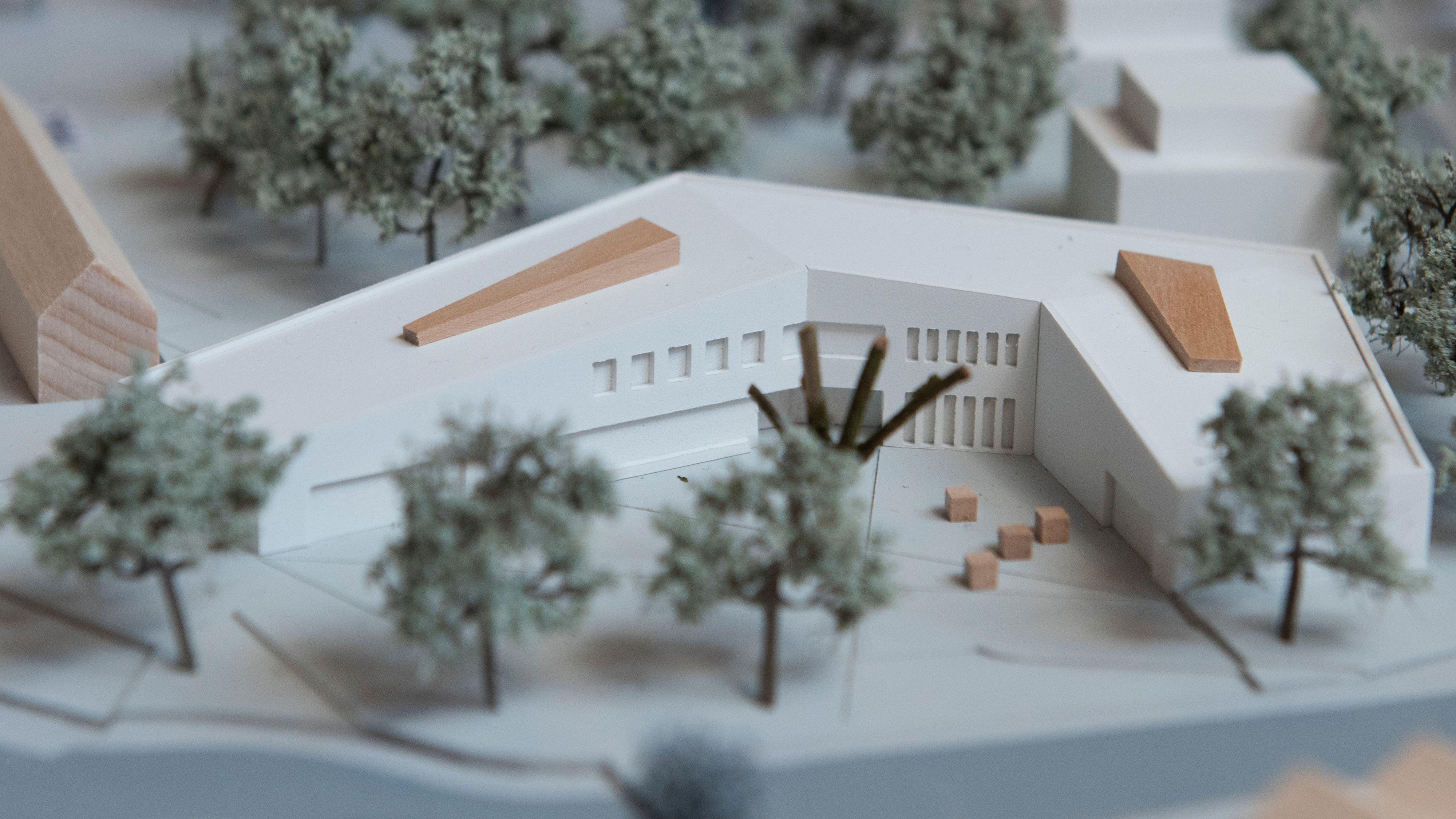 Heiß diskutiert: Das Neubauprojekt mit Rathaus und Dorfgemeinschaftshaus. Foto: Thomas Vorwerk