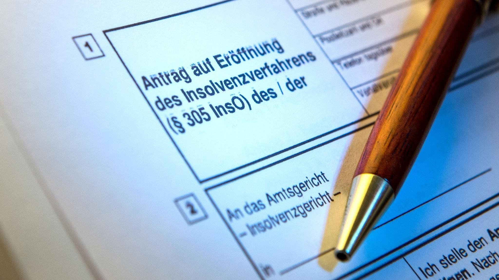 Debatte um Insolvenzantrags-Pflicht: Wie groß ist das Risiko? Foto: dpa/Heinl