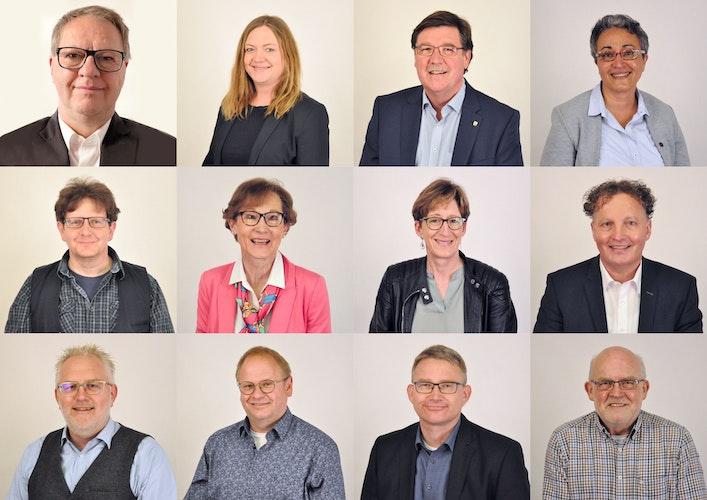 8 Männer, 4 Frauen: die CDU-Kandidaten für den Kreistag. Foto: CDU-Stadtverband Lohne