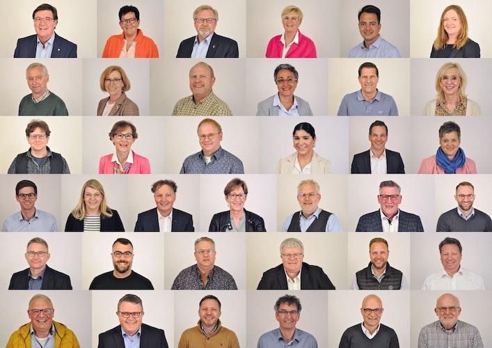 26 Männer, 11 Frauen: die Kandidaten der CDU Lohne für die Kommunalwahl 2021. Foto: CDU-Stadtverband Lohne