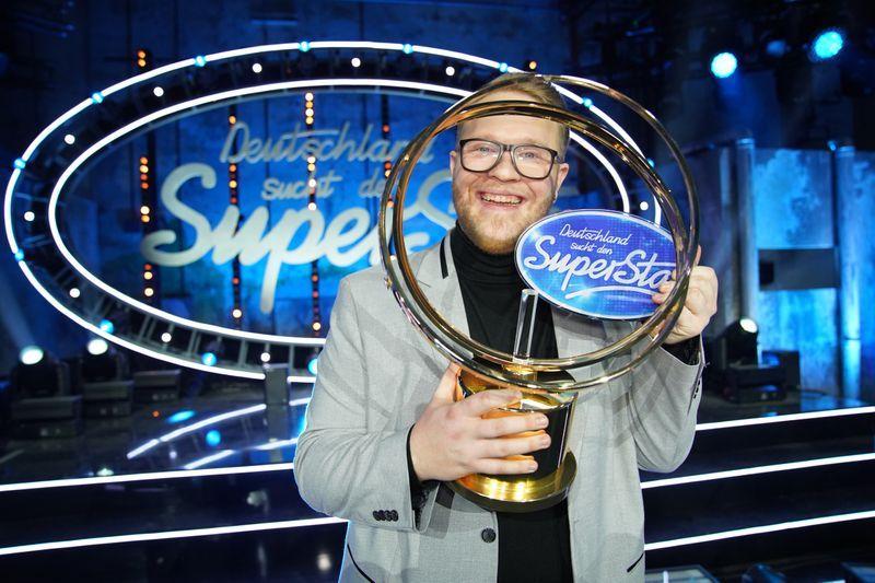 Jan-Marten Block, Sieger der RTL-Castingshow «Deutschland sucht den Superstar». Foto: Stefan Gregorowius /TVNOW / dpa