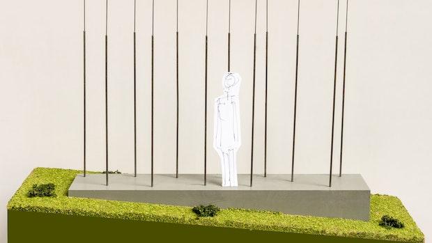 Skulpturen sollen Goldenstedt optisch aufwerten