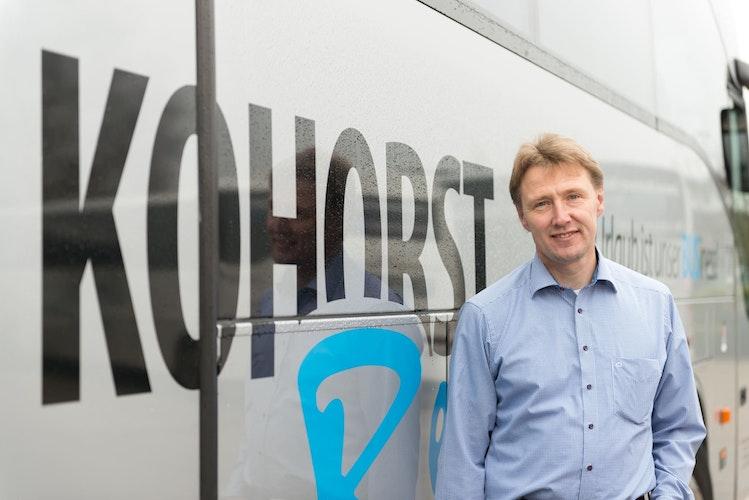 Talkt mit bei der CDU-Veranstaltung: Rainer Kohorst vom gleichnamigen Busunternehmen. Foto: Made in Dinklage  Kohorst