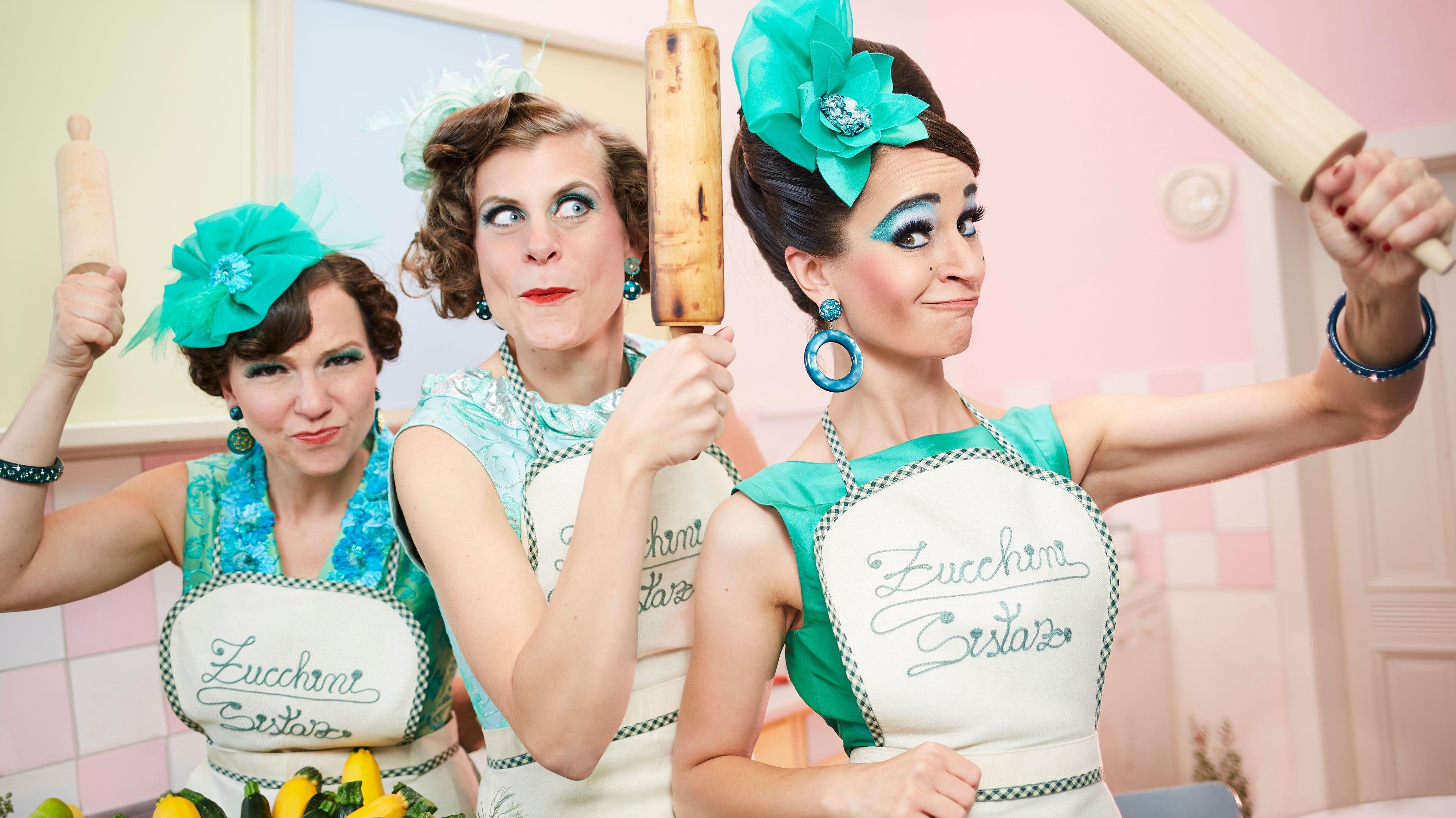 """Swing und Entertainment: Der Auftritt der """"Zucchini Sistaz"""" am 10. Juli in Garrel steht noch. Foto: Peter Wattendorff"""