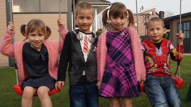 Visbeker Vierlingsfamilie macht Corona-Pandemie nicht so viel aus