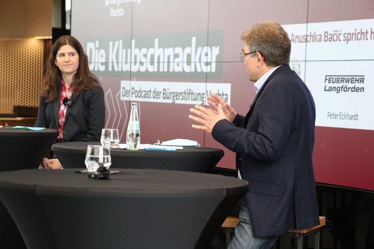 Aktiv in der Corona-Krise: Vorsitzender Heinrich Wolking berichtete über die Projekte der Bürgerstiftung. Foto: Speckmann