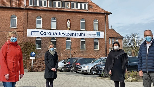 Corona: Friesoyther Hospital testet ab sofort an 7 Tagen pro Woche