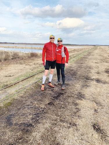 Leidenschaftliche Läufer: Uwe Middendorf (links) und Ferdinand Erken. Foto: Privat