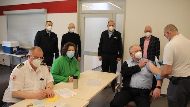 Erste Feuerwehrleute sind im Kreis Cloppenburg geimpft