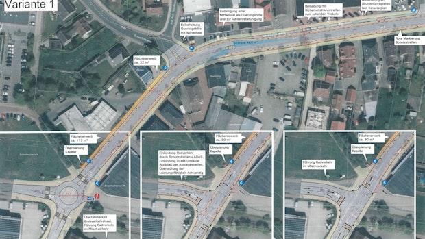 Kreuzung Grüner Hof/Europastraße bekommt eine neue Optik