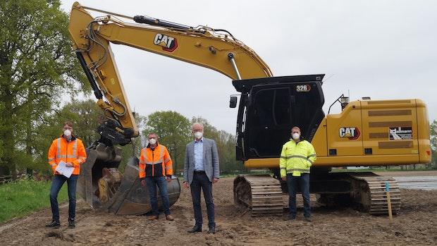Landkreis startet mit Bau eines Radwegs in Visbek