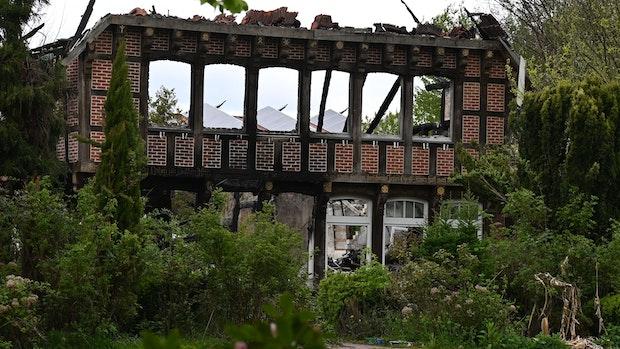 Brandruine in Bokel wird wieder aufgebaut