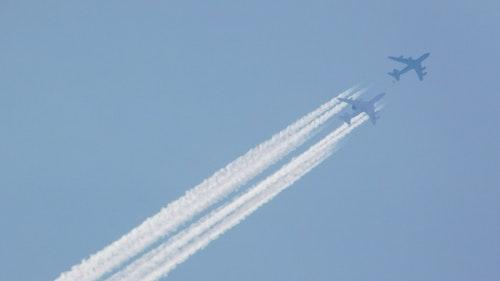 Flugzeuge können auch in der Luft tanken
