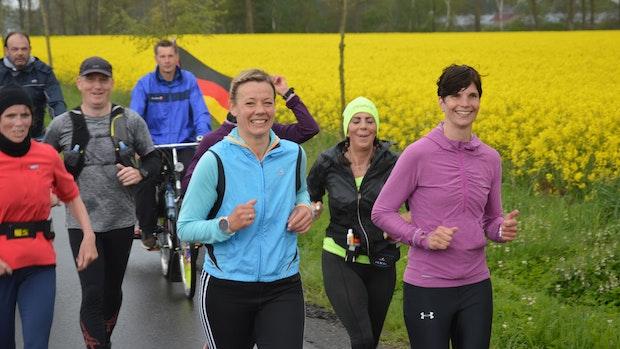Läuferinnen sammeln über 11.000 Euro mit Spendenmarathon