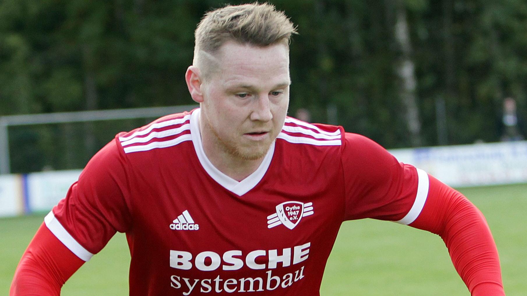 40 Saisontore – ohne Elfmeter: Tim Wernke traf in der Landesliga-Saison 2011/12 fast nach Belieben für den VfL Oythe. Foto: Schikora
