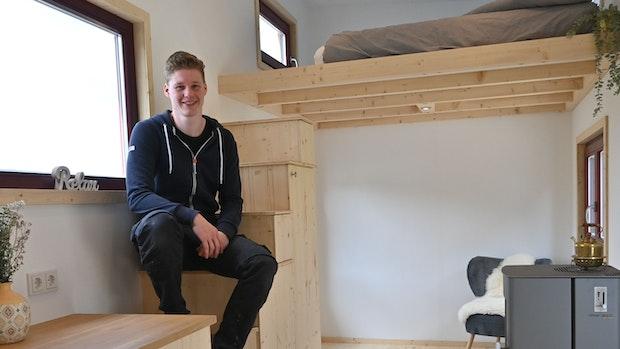 Christian Koopmann baut kleinste Häuser in Molbergen
