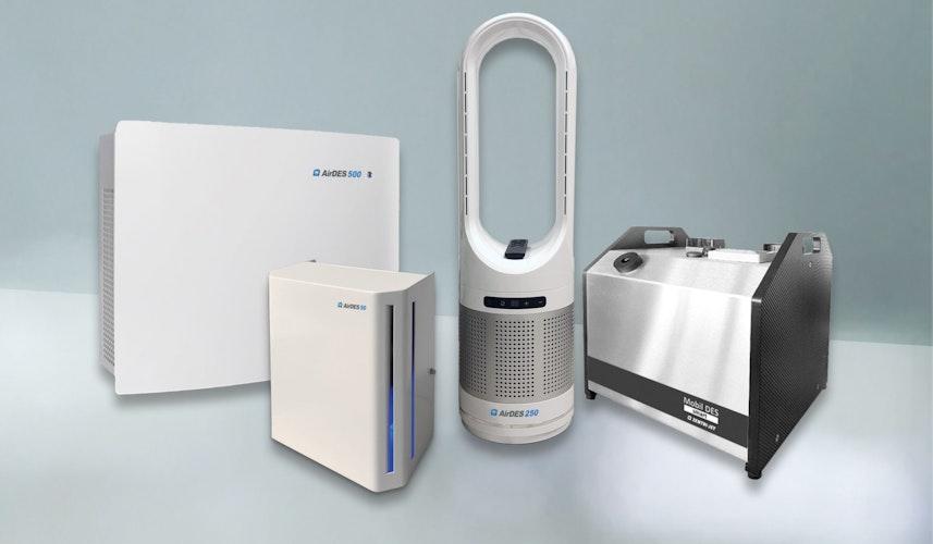 Die Ionisationsgeräte von Zentrijet gibt es in verschiedenen Größen und mit unterschiedlicher Leistung. Foto: Zentrijet