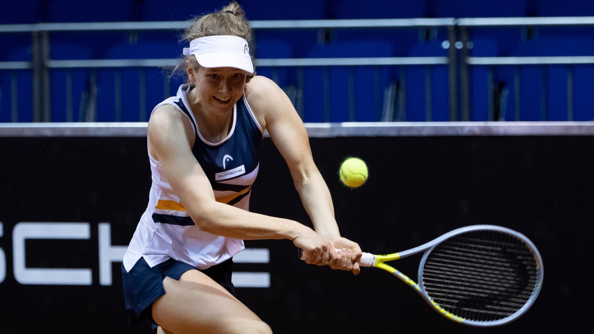 Turniersieg in Ricany, Ticket für Paris: Julia Middendorf. Foto: Porsche Media/Paul Zimmer