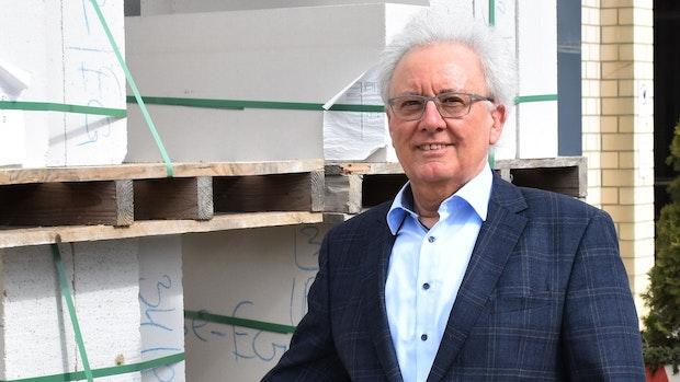 Hans Georg Leuck, der Pionier des deutschen Mauerwerks, ist nun im Ruhestand