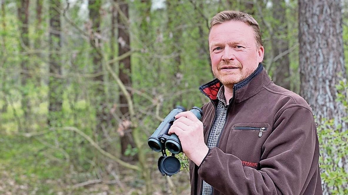 Seit 32 Jahren Jäger: Dominik Hempen, der seit 2003 den Böseler Hegering führt. Foto: Claudia Wimberg