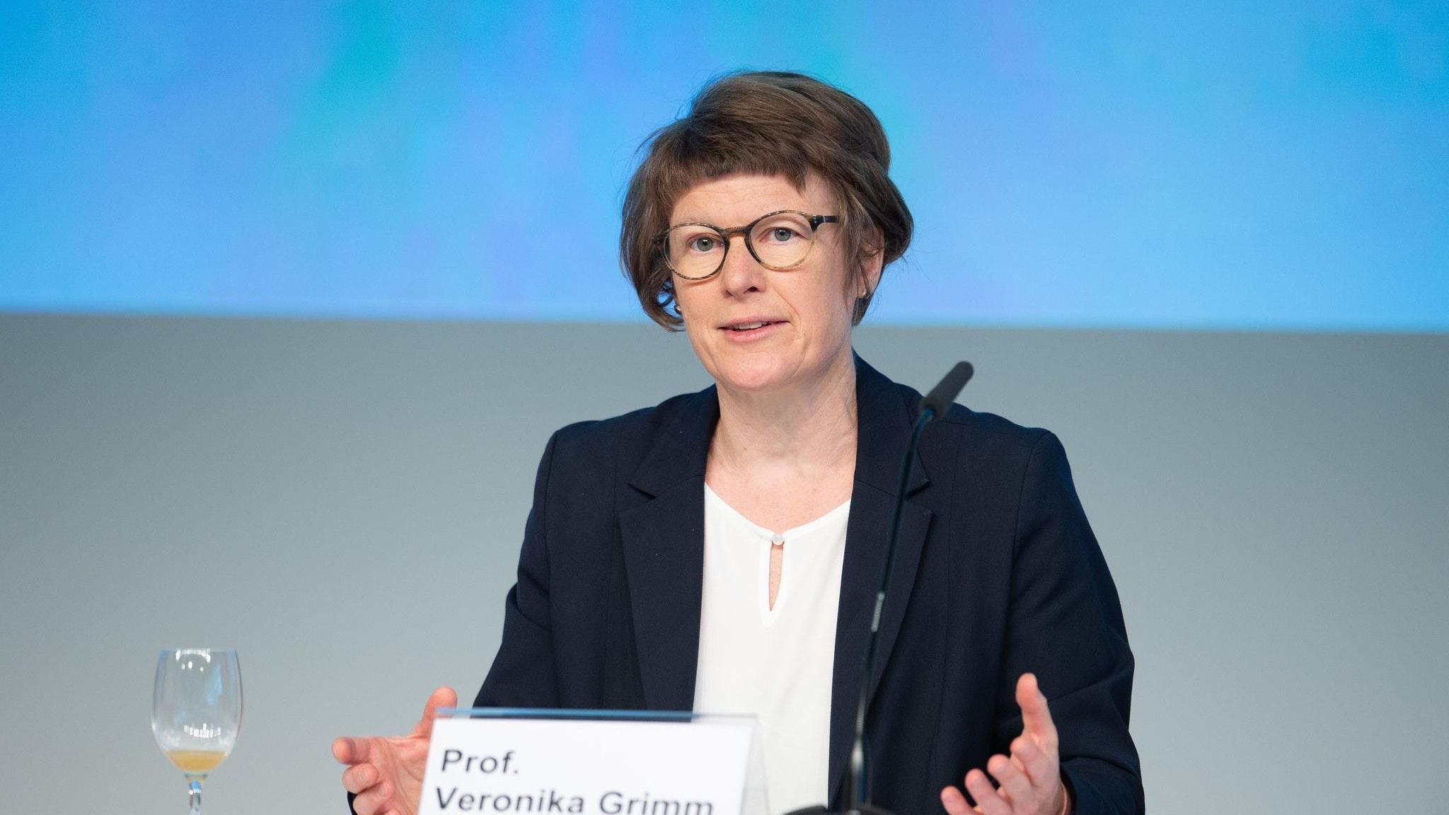 Professorin Veronika Grimm. Foto: dpa/Schamberger
