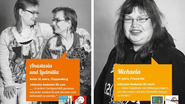 Starke Stimmen werben für Gleichstellung von Menschen mit Behinderung