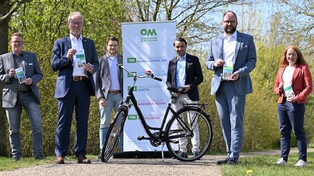 Neue Radwanderkarten zeigen Wege durch das Oldenburger Münsterland