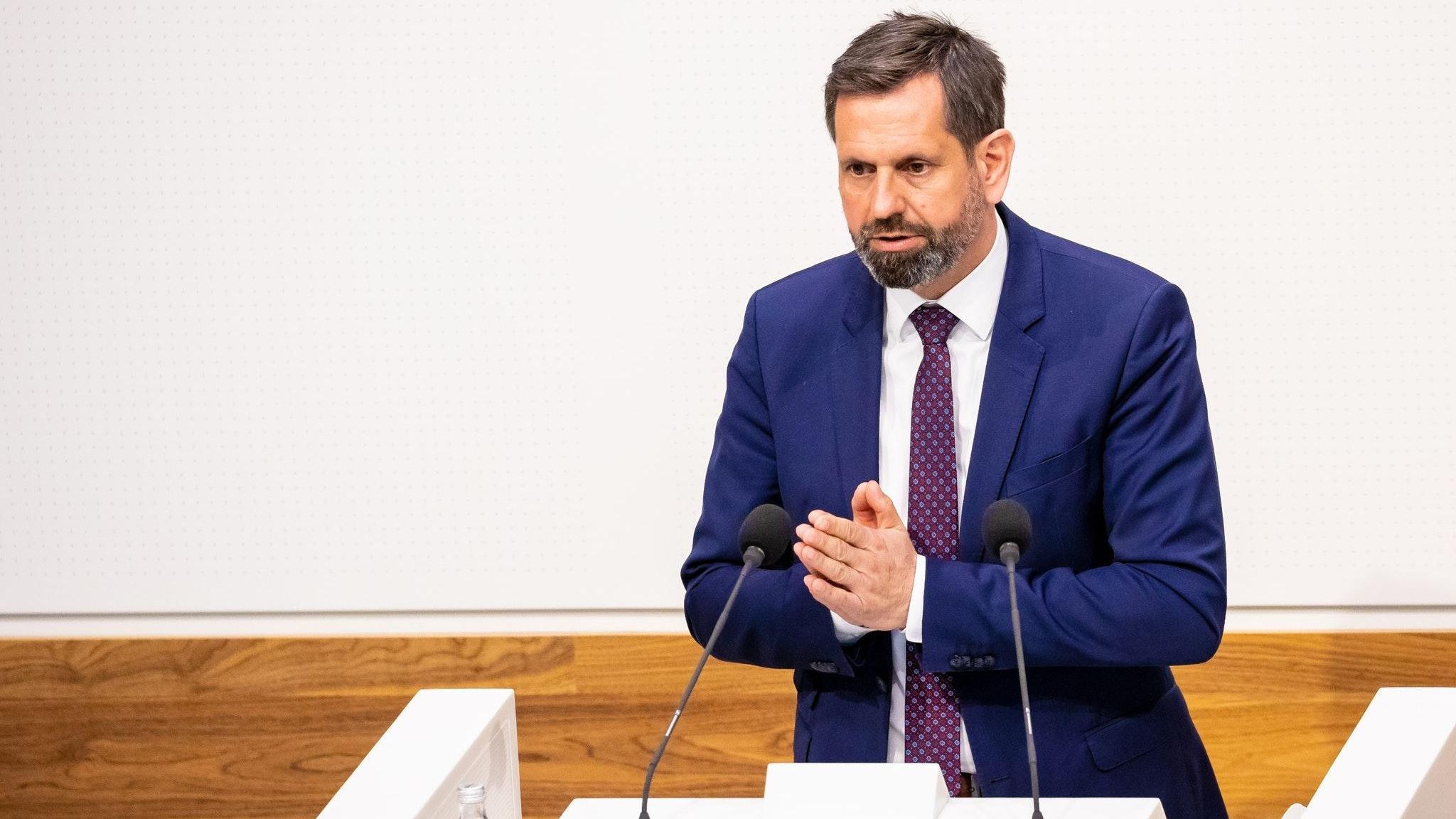 Olaf Lies,Umweltminister in Niedersachsen (SPD). Foto: dpa